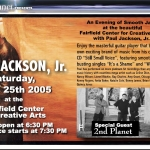 Paul Jackson Jr Flyer Front