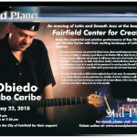 Ray Obiedo Concert Flyer Front